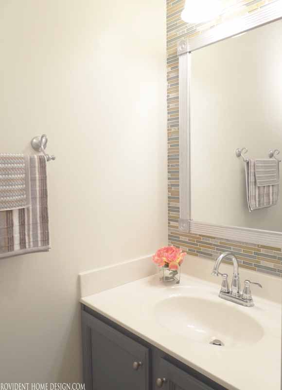 Powder Bath Towel Bar Location