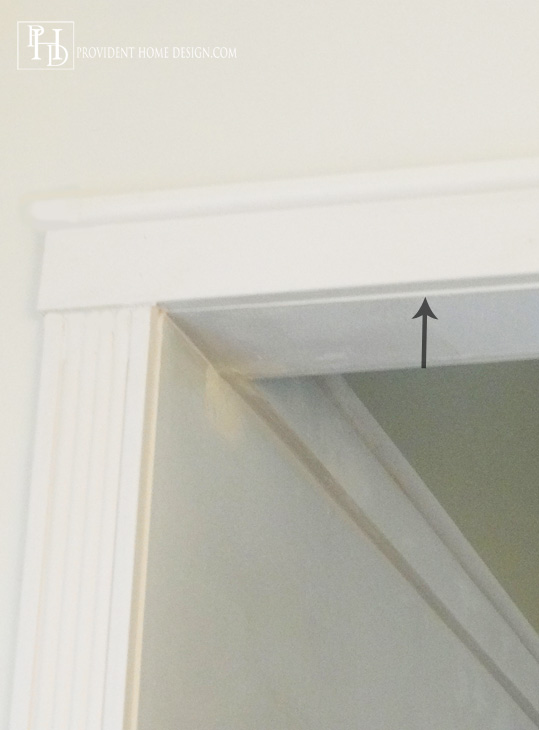 DIY Doorway TrimTutorial