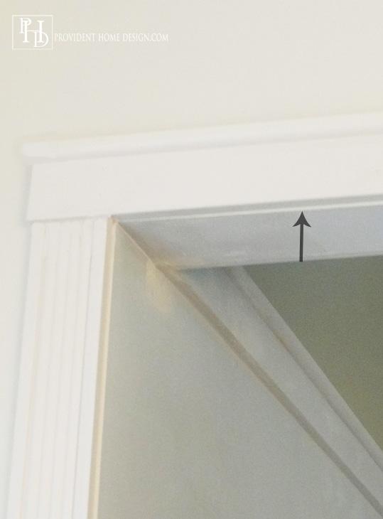 DIY Doorway TrimTutorial