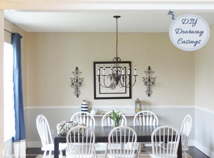 DIY Easy Doorway Casings