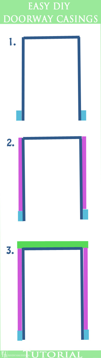 Easy DIY Doorway Casings Tutorial
