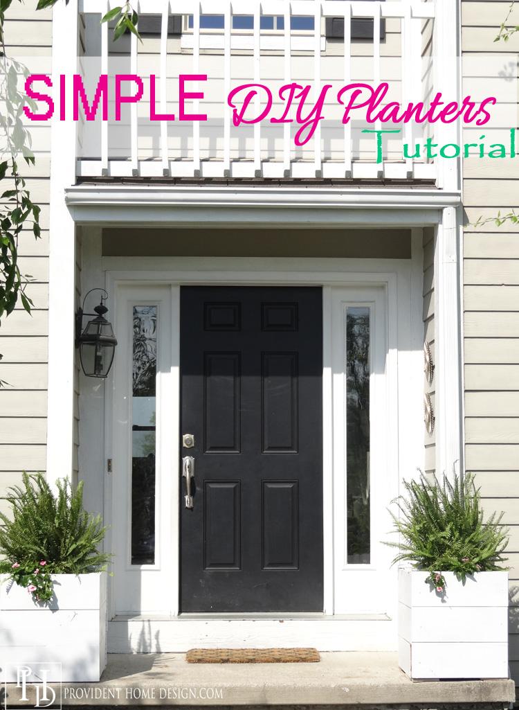 Simple DIY Planters