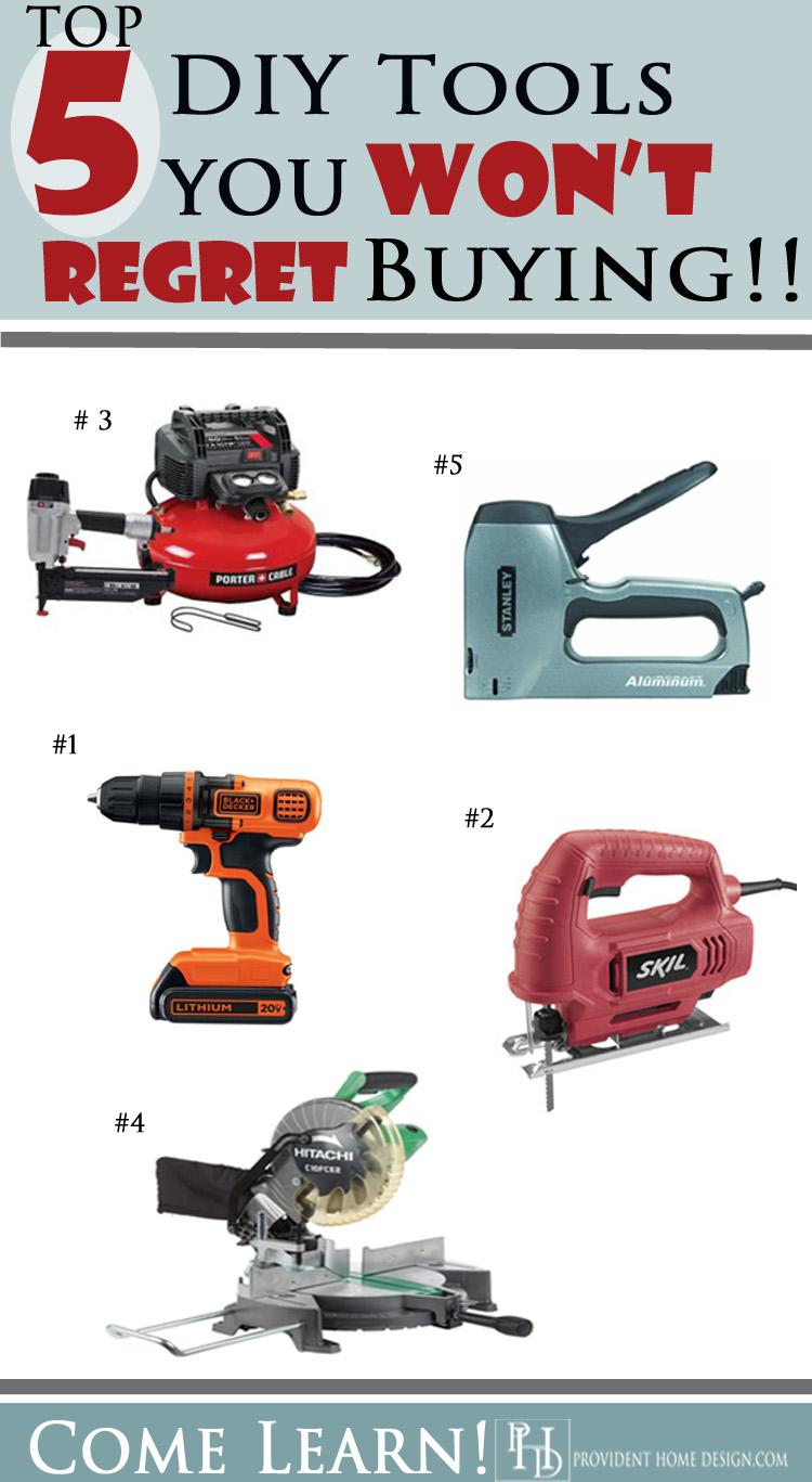 5 Best DIY Tools!