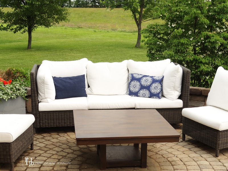 Upcycled Outdoor Coffee Table 2