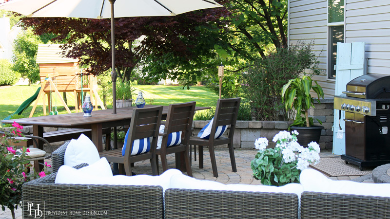 Budget Patio Makeover