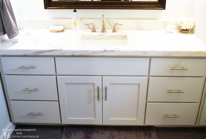 Painting Bathroom Cabinets Gray how to paint cabinets with chalk paint