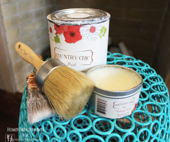 Supplies to Paint Cabinets with Chalk Paint