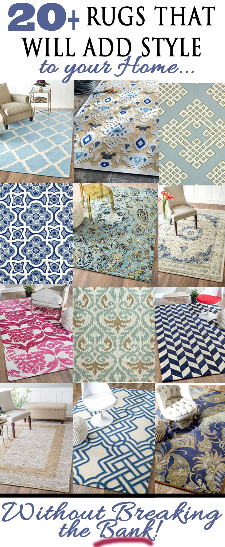 Hand Picked Collection of Rugs that Rock!