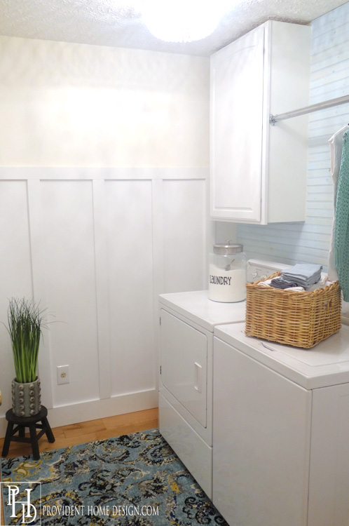 Laundry Makeover Reveal