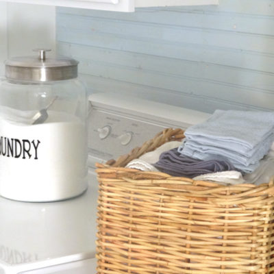 Laundry Makeover Gone Glam