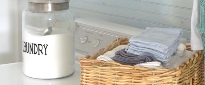 Laundry Makeover Gone Glam