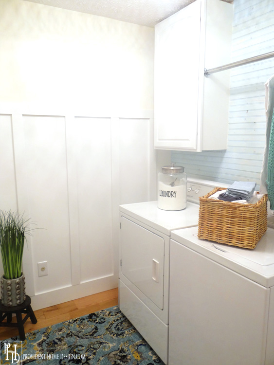 Laundry Room Makeover After