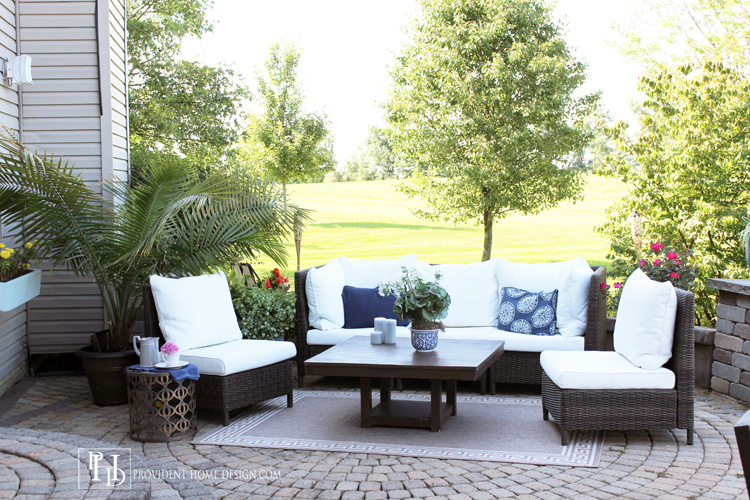 world market outdoor furniture Budget Patio Makeover Ideas world market outdoor furniture