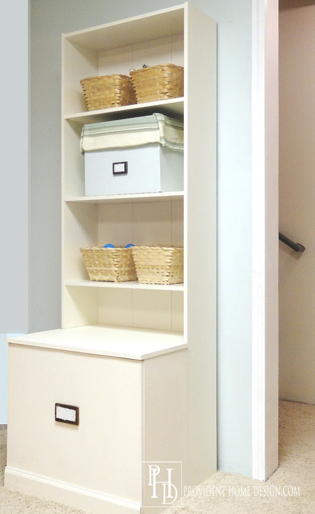 DIY Playroom Storage