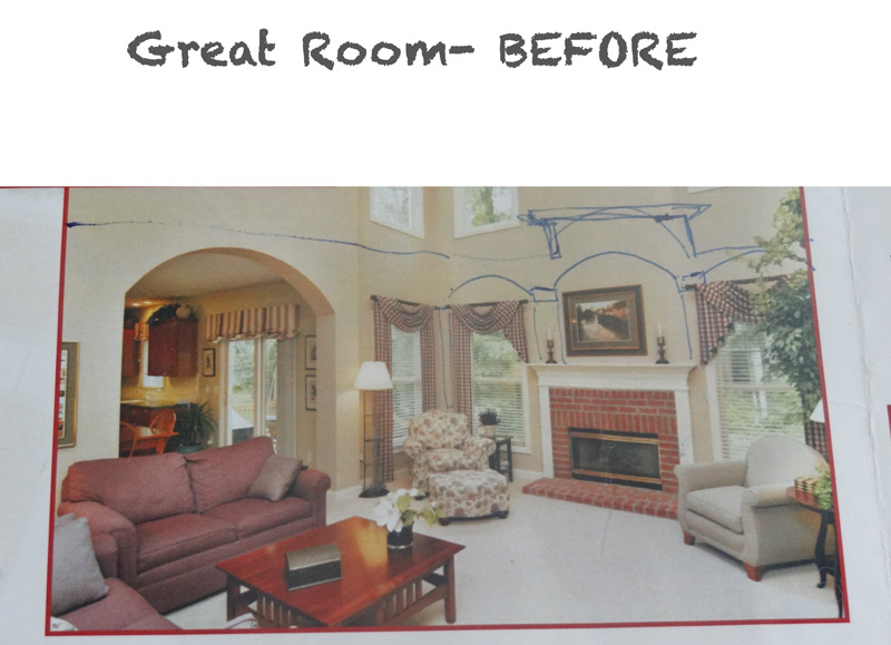 Great Room Befores