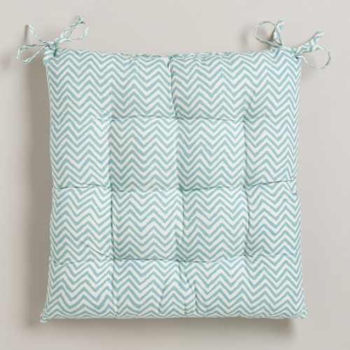 World Market Chevron Cushion