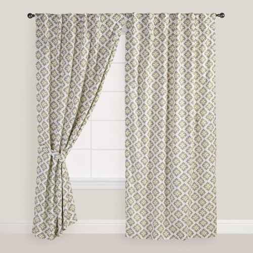 World Market Drapes