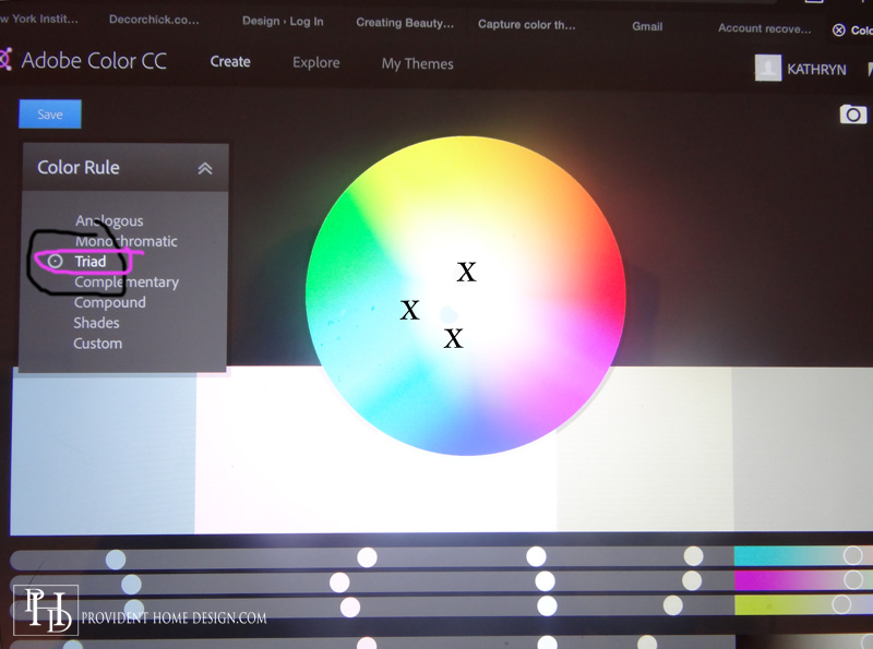 Color Wheel Adobe Color App