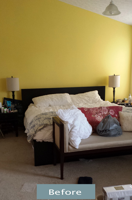 Master Bedroom Makeove Before
