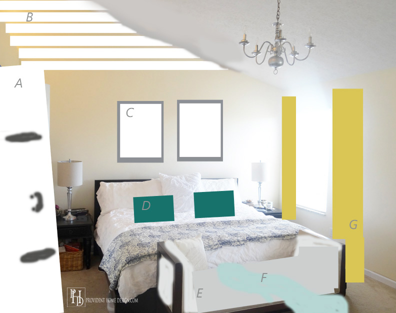 Master Bedroom Photoshopped
