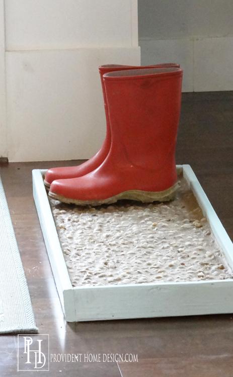 Cobblestone Boot Tray