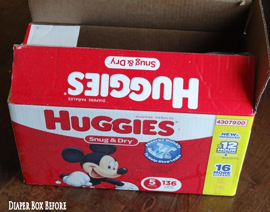 Empty Diaper Box Uses