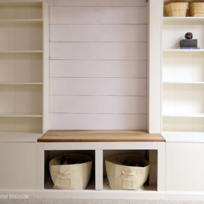 How to Install Shiplap & Finished Wall Storage System (ORC Week 3)