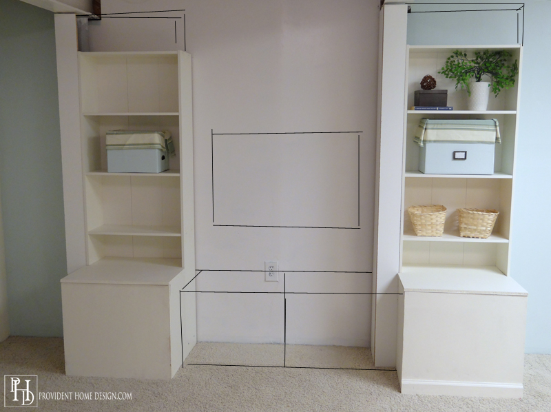 How to Make Built in Storage
