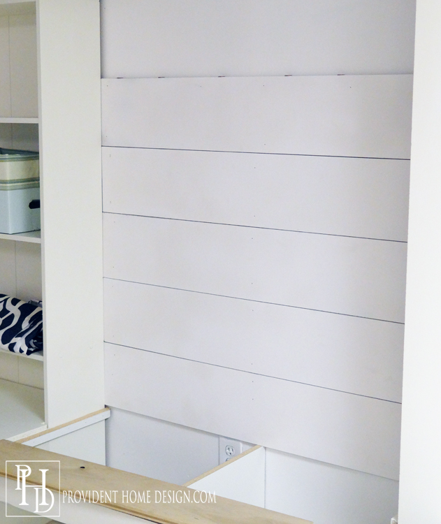 How to Install Shiplap - Provident Home Design