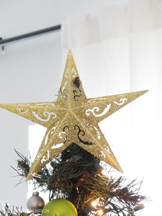 1 Dollar Christmas Tree Topper