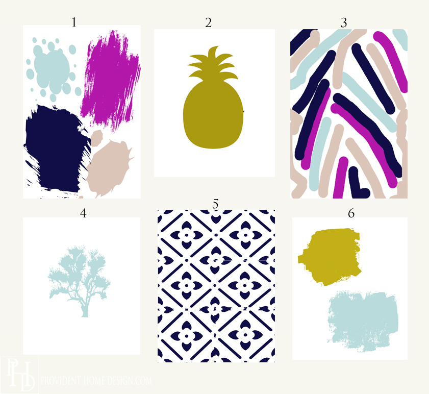 6 Free Abstract Printables