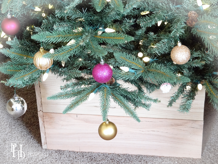 DIY Christmas Tree Planter