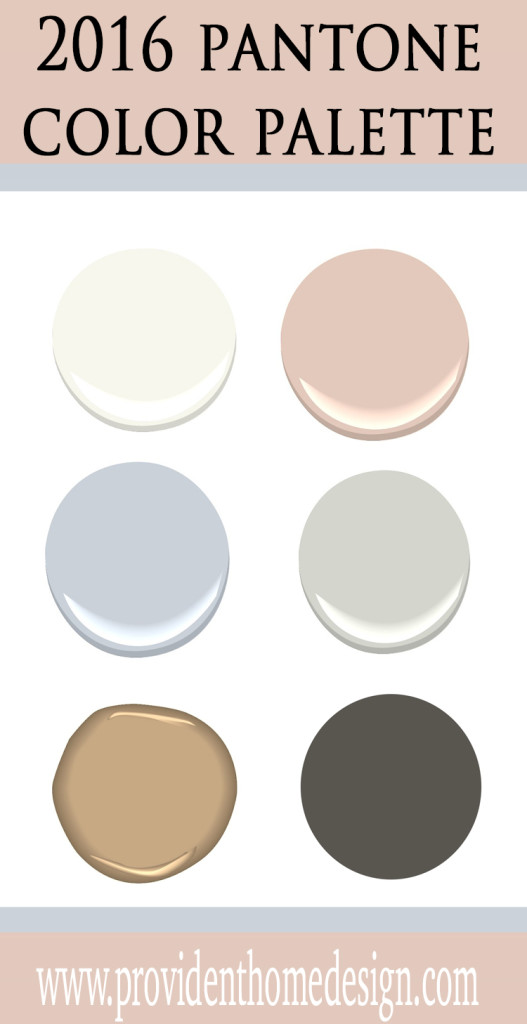 2016 Pantone Color Palette