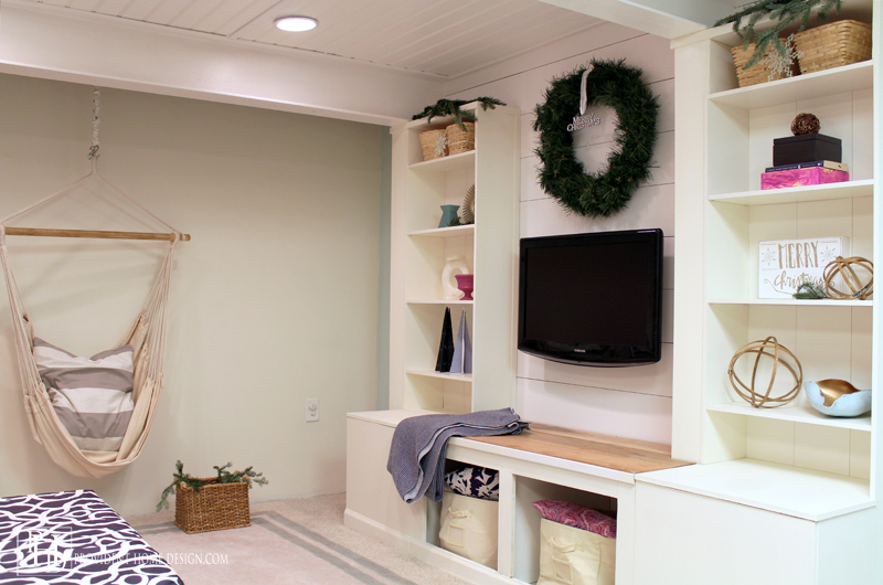 Christmas Basement Decor