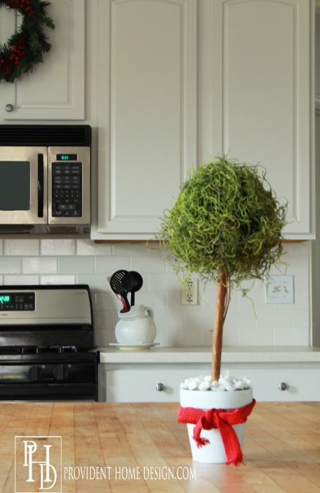 Christmas Boxwood Topiary