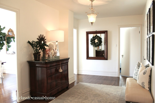 Classic Casual Home foyer