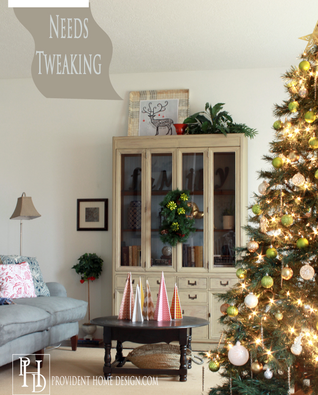 Living Room Christmas Home Tour