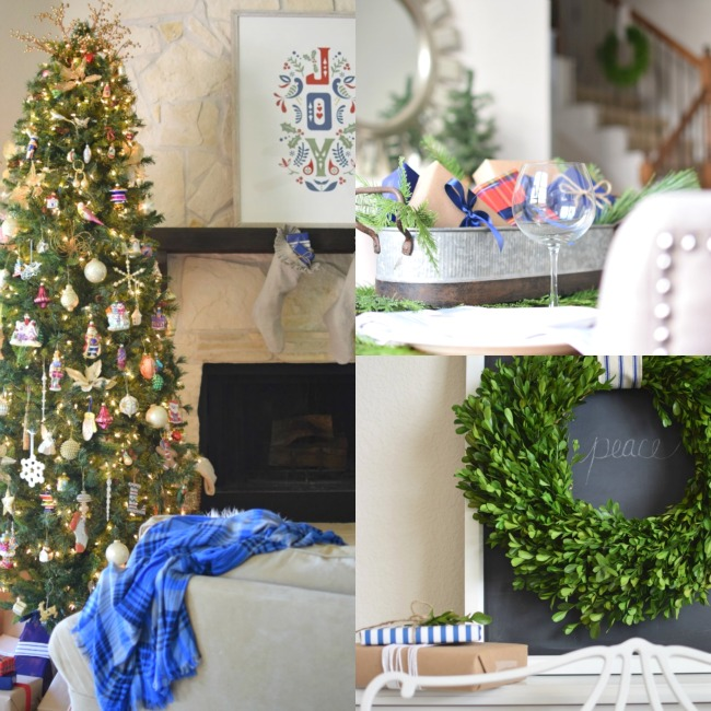 This is Happiness christmas home tour