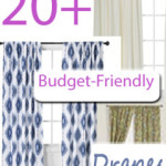 20+ Budget Friendly Drapes