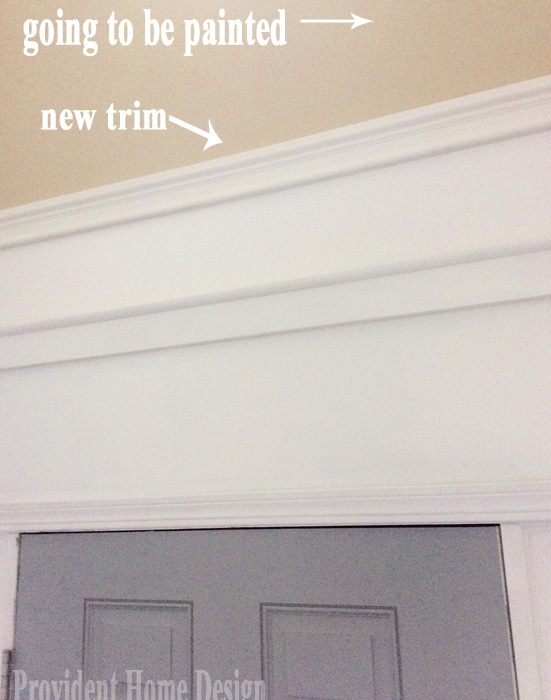 Foyer Trim so Far