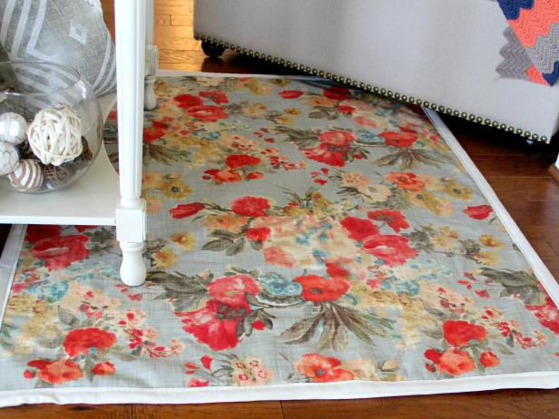 How to Make a Rug from Fabric