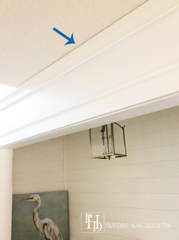 How to install Crown molding the cheaters way