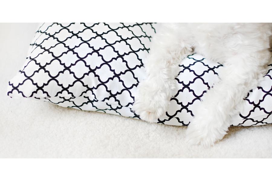 No-Sew-Pet-Bed