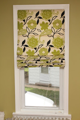 Roman Shades Tutorial