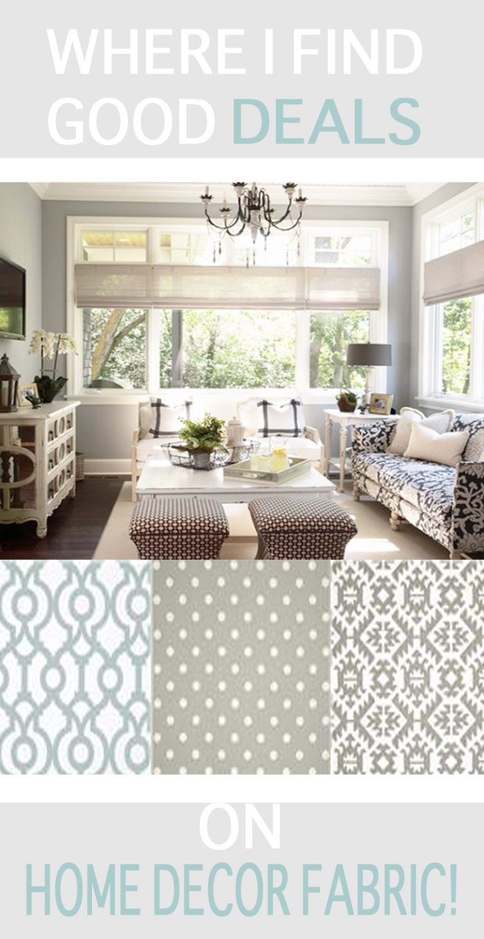 Where to Find Good Deals on Home Decor Fabric