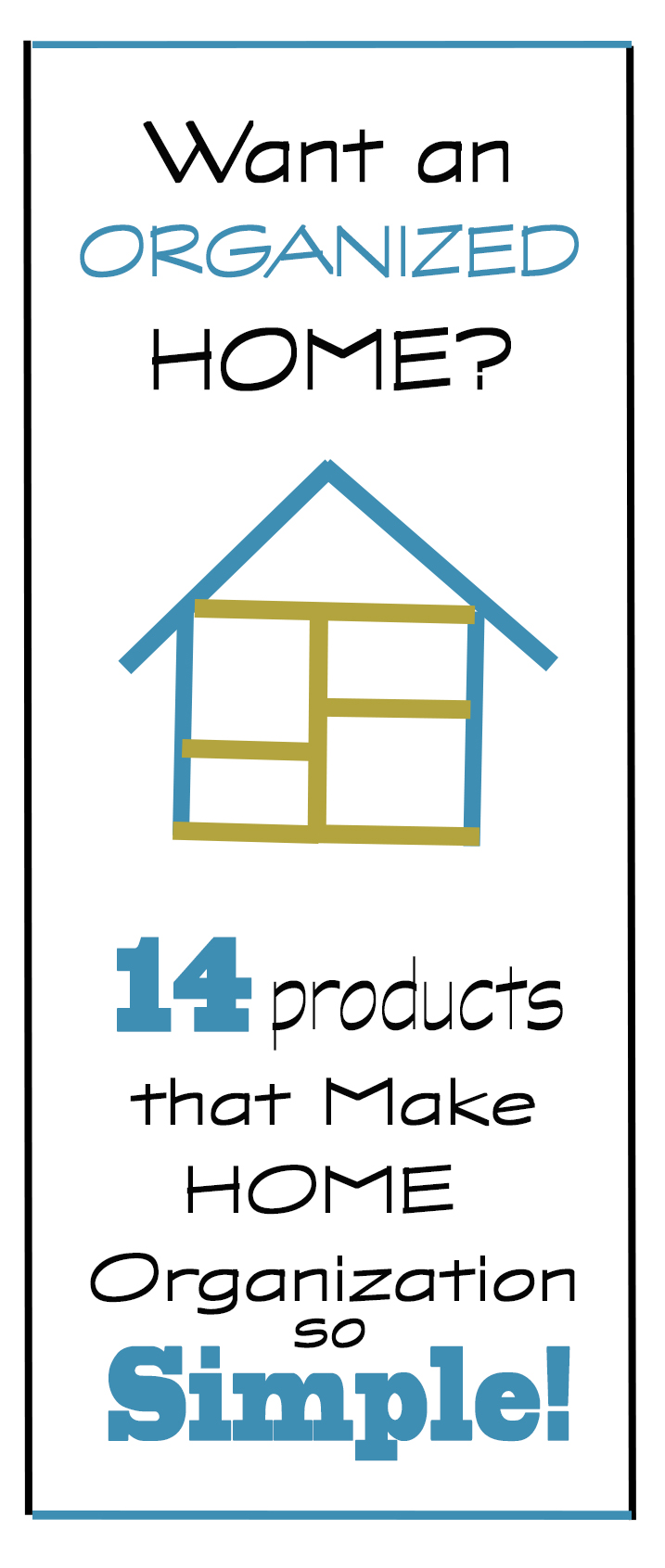 Inexpensive home organization products