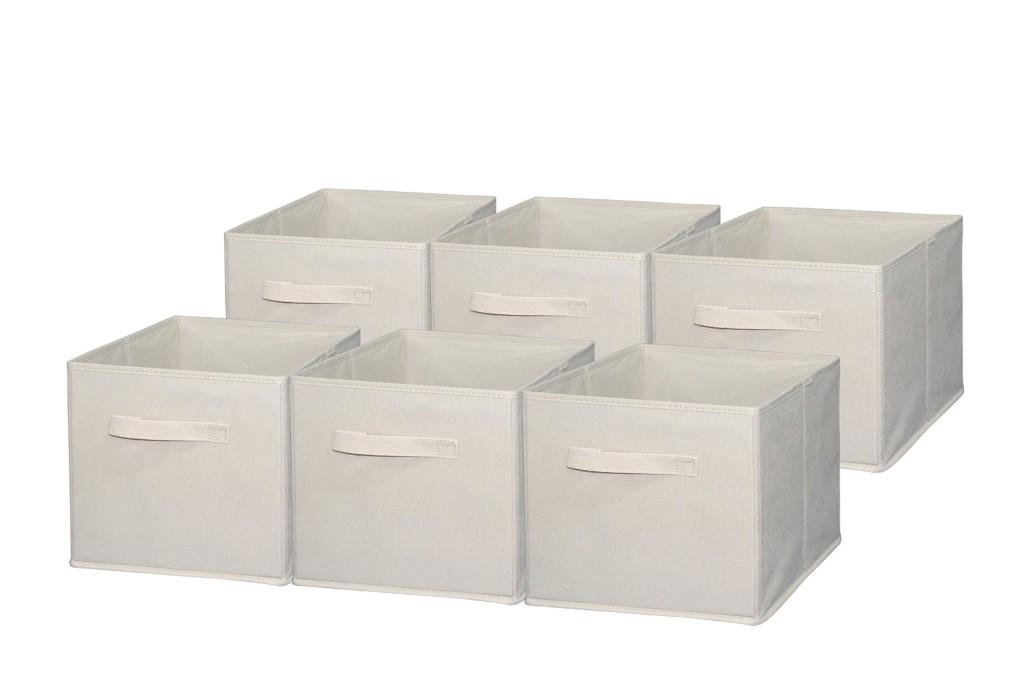 Organization Solutions with Cloth storage bins