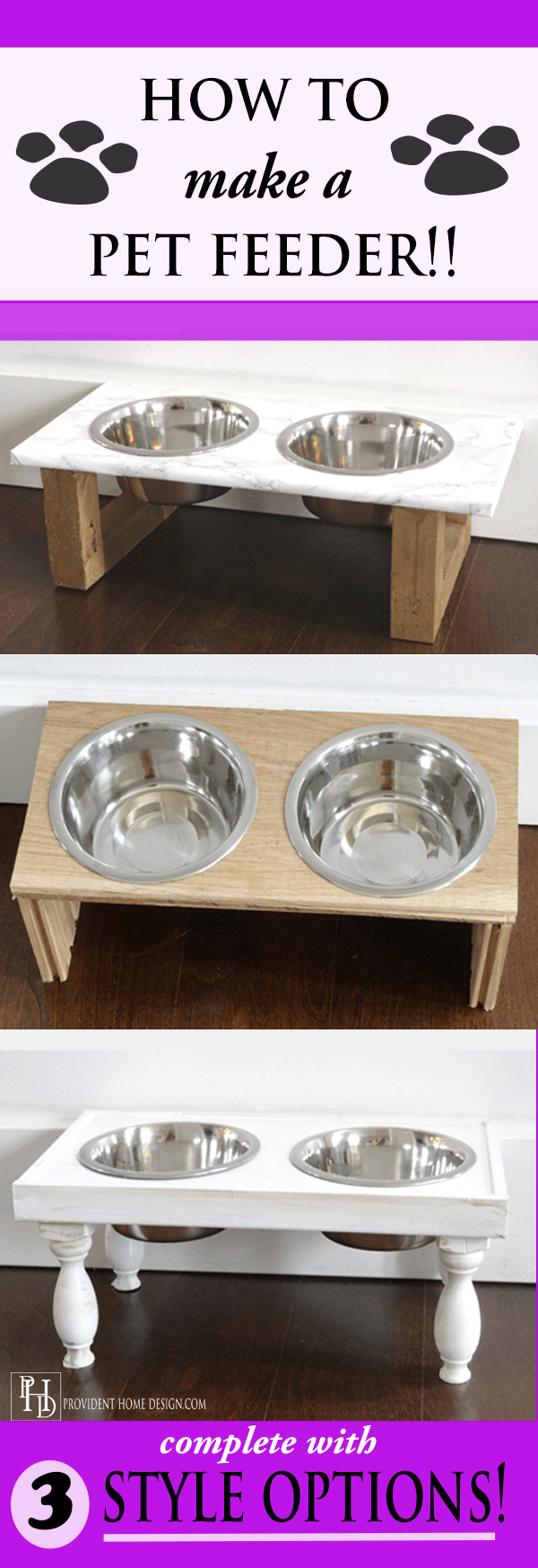 How to Make a Pet Feeder