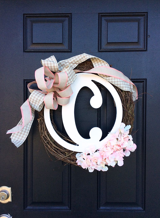 DIY Spring Wreath copy