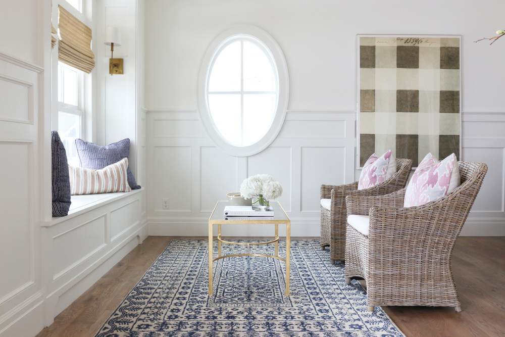 Examples of Benjamin Moore Simply White Studio Mcgee